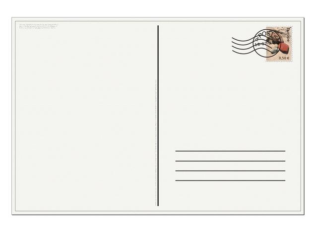 Postkarten als Werbeform